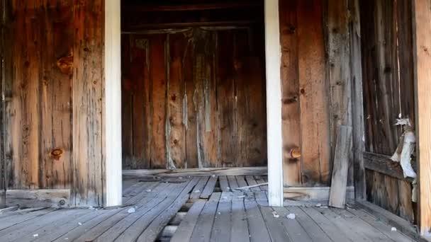 Opustit, důlní město duchů interiér