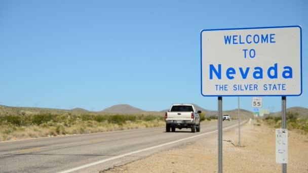 California Nevada State Border