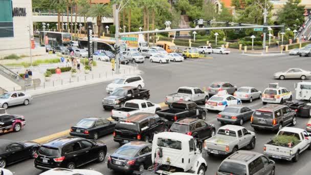 Las Vegas Strip Day commuter traffic