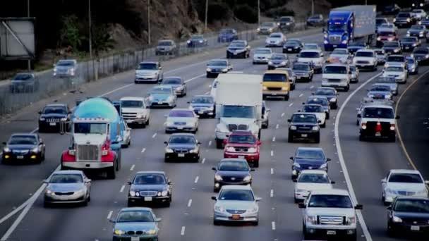 A Los Angeles-i autópálya forgalom