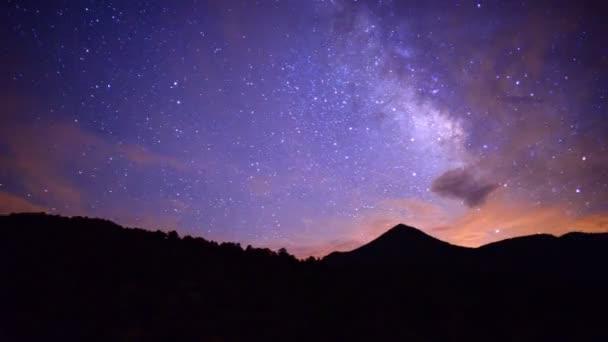 Black Rock Canyon a krásu oblohy