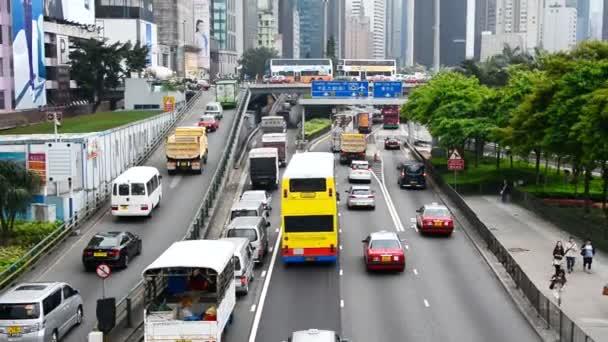 Provoz na dálnici obsazeno Hong Kong