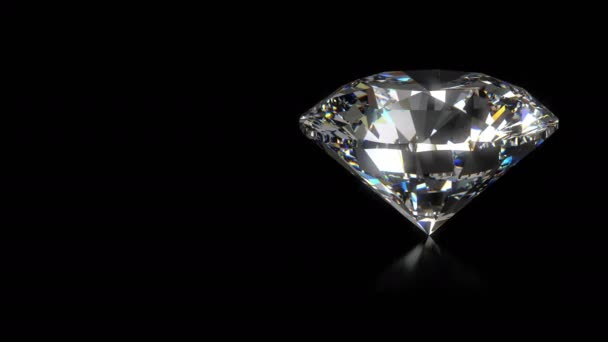 Spinning diamant na černém - smyčce