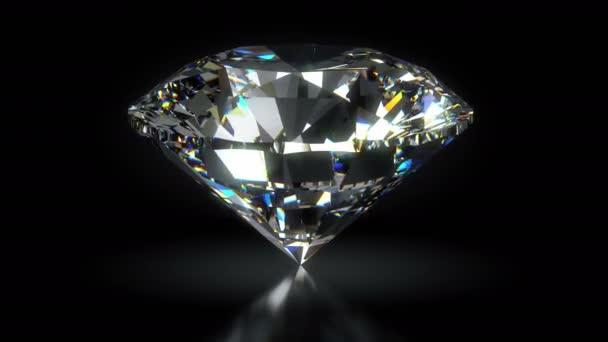 Svítící a zářící diamant smyčka