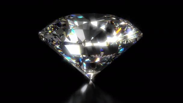 Fényes és csillogó gyémánt