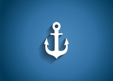 Sea Glossy Icon Vector Illustration
