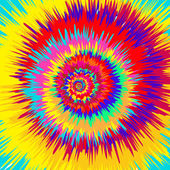 Fotografie bunte abstrakte psychedelische Kunst Hintergrund. Vektor illustratio