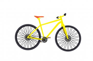 Bicycle. Vector Illustrator.