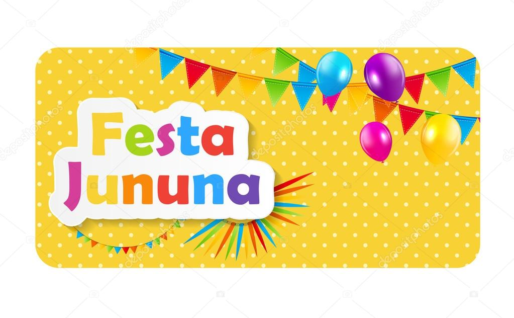 Festa Jinina Background Vector Illustration