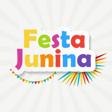 Festa Junina Background Vector Illustration