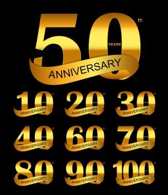 Anniversary Logo Set