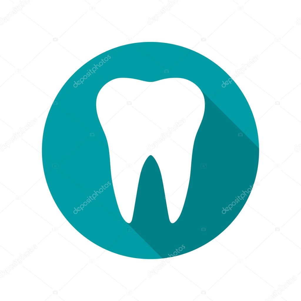 Tooth Icon Symbol Vector Illustration