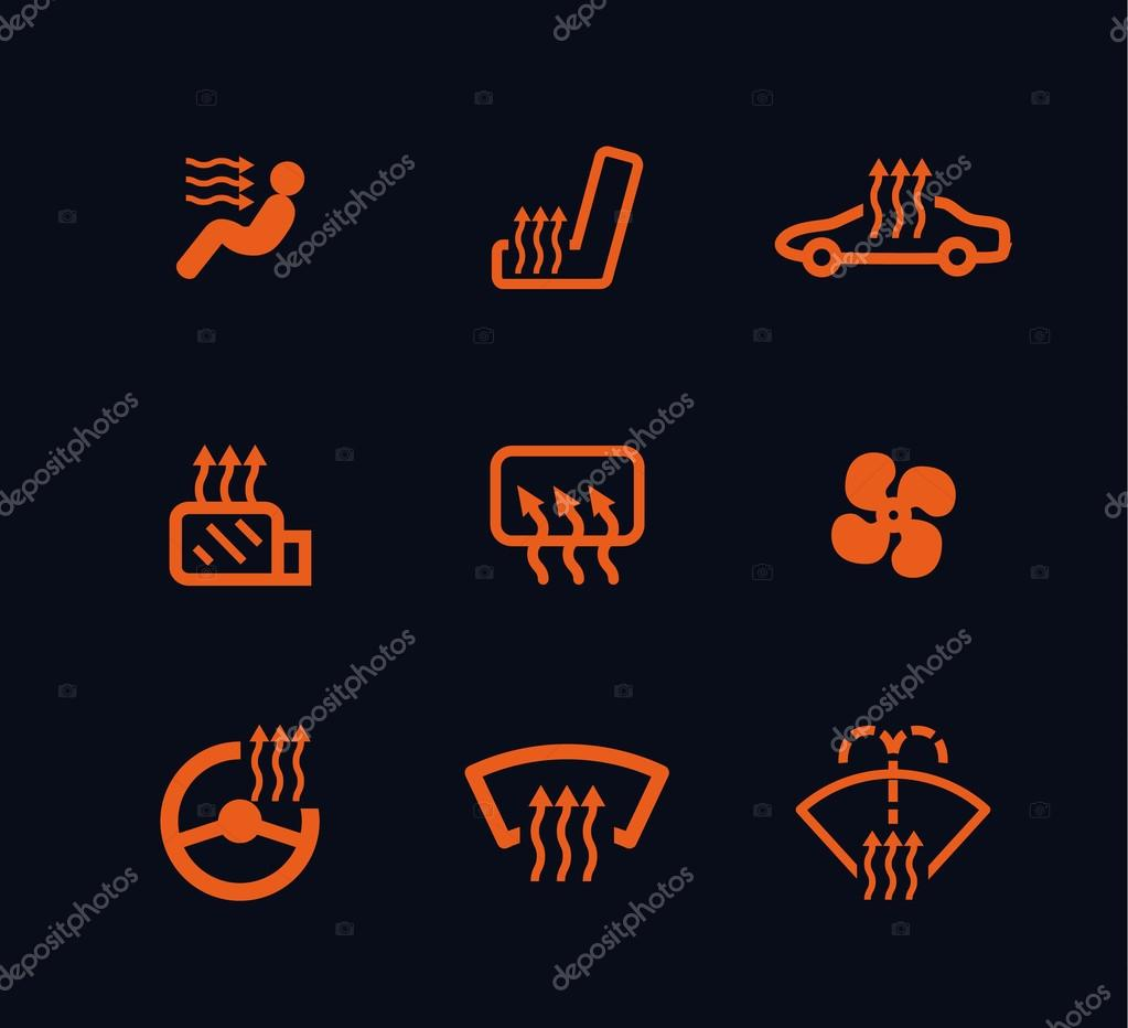 logo orange voiture tableau de bord. Black Bedroom Furniture Sets. Home Design Ideas