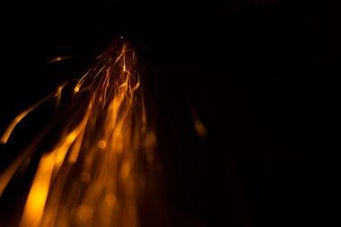 sparks comet like in dark