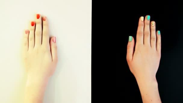 manikúra nehty