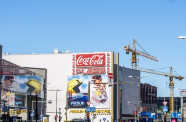 Pixels and Mission Impossible - Rogue Nation movies billboards 3