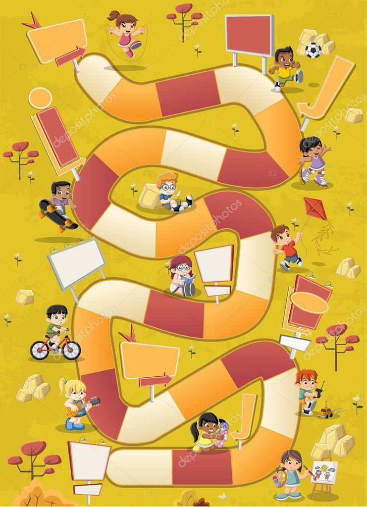 Imagenes Juegos De Mesa Animados Ninos De Dibujos Animados