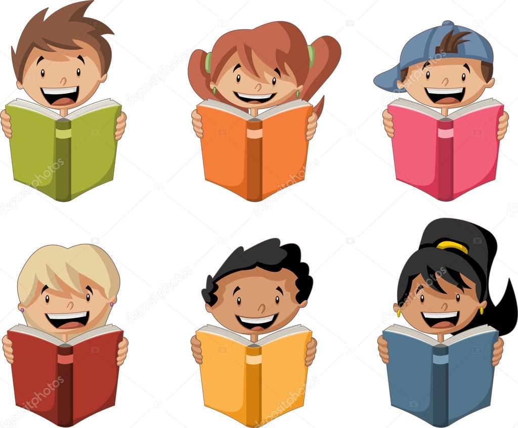 ni u00f1os de dibujos animados leyendo libros estudiantes clip art children playing outside clipart children playing drum