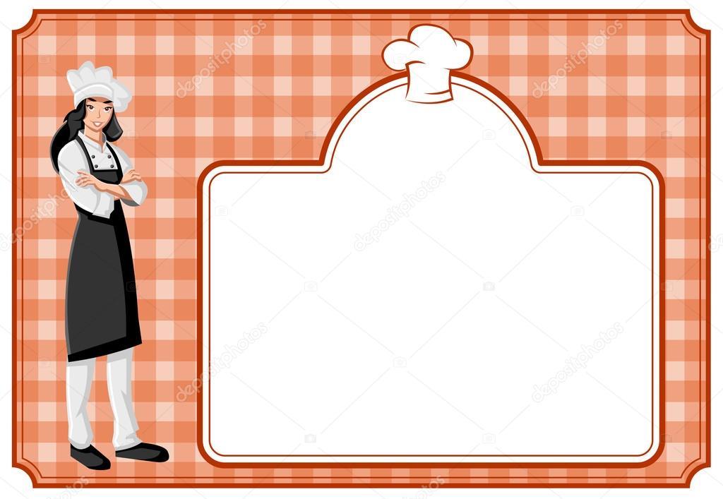 Dibujos: Chef De Animados Mujer