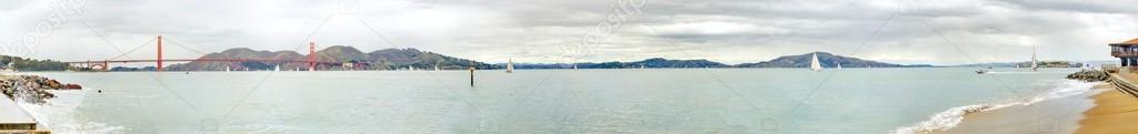 San Francisco Bay panorama, California