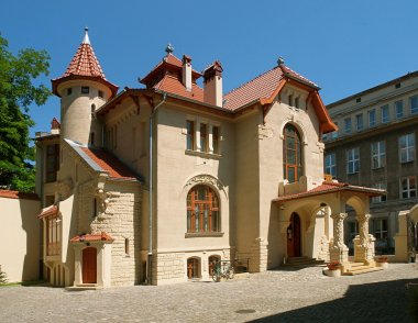 Art Nouveau villa Leopold Kinderman
