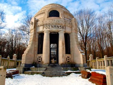 Poznanski mausoleum.