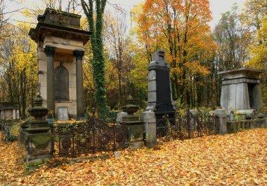 Jewish tombs.