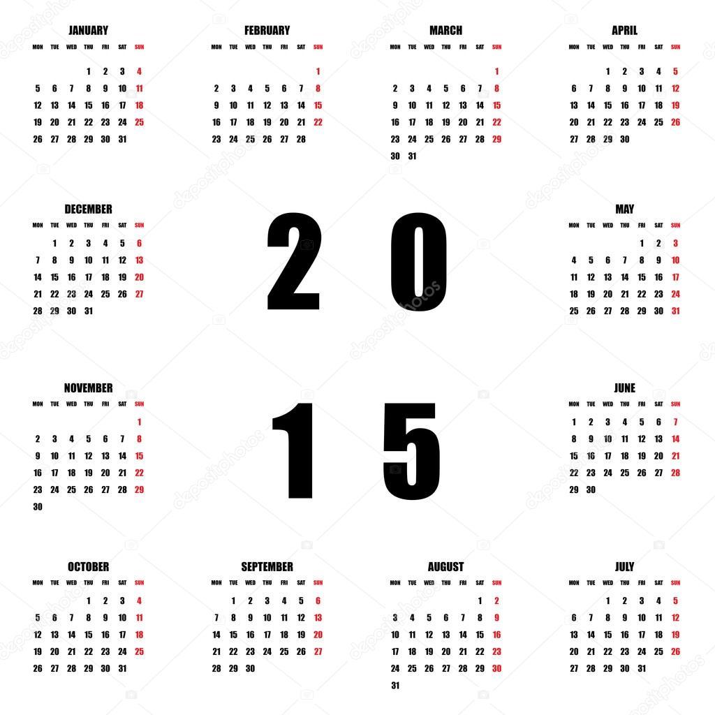 Tolle Leere 2015 Kalendervorlagen Fotos - Beispiel Wiederaufnahme ...