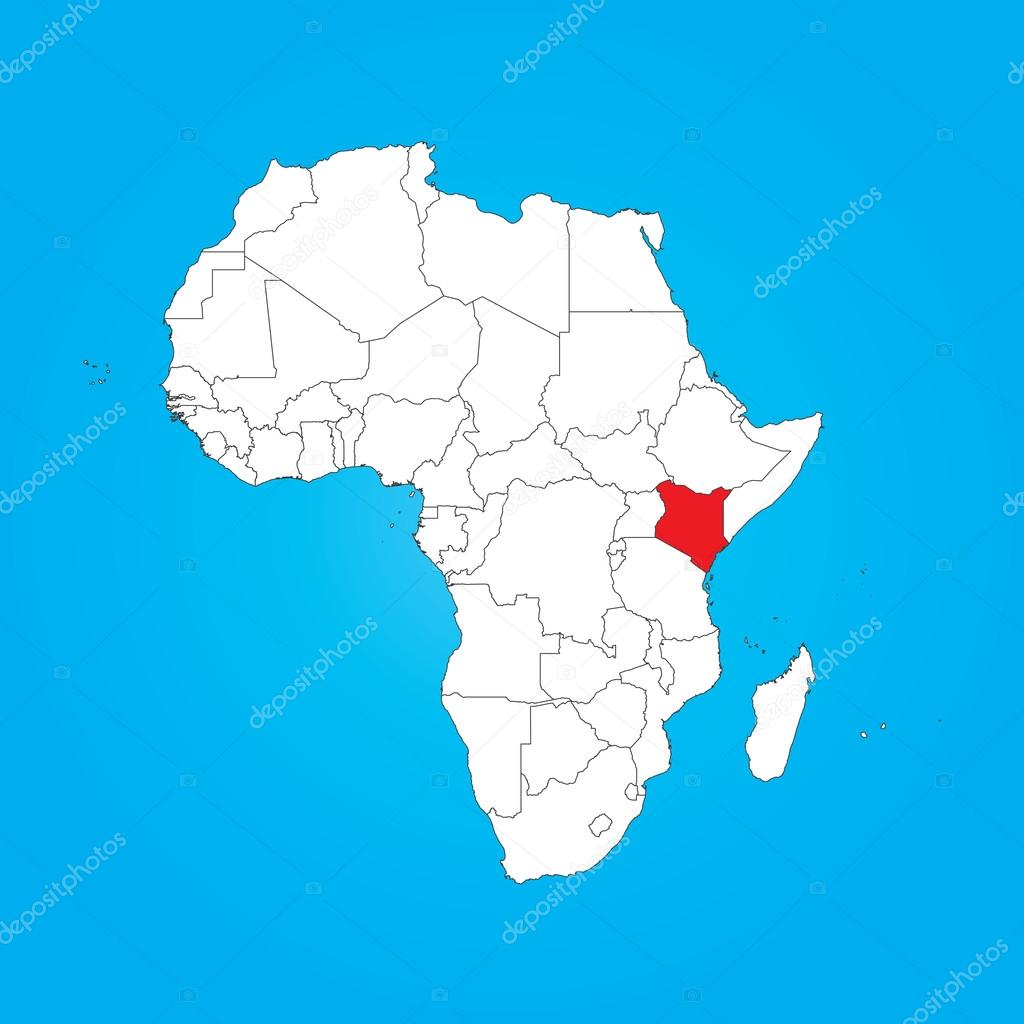 Map of Africa with a selected country of Kenya — Stock Photo ... Kenya Country Map on kenya map detailed, kenya's map, kenya physical features, texas natural resources map, kenya road map, lesotho capital map, kenya county map, kenya flag, african kenya map, kenya vegetation map, kenya town map, kenya country people, kenya egypt map, kenya thematic map, kenya mountains map, kenya culture, kenya ethnic map, kenya africa, kenya industry map, kenya on map,