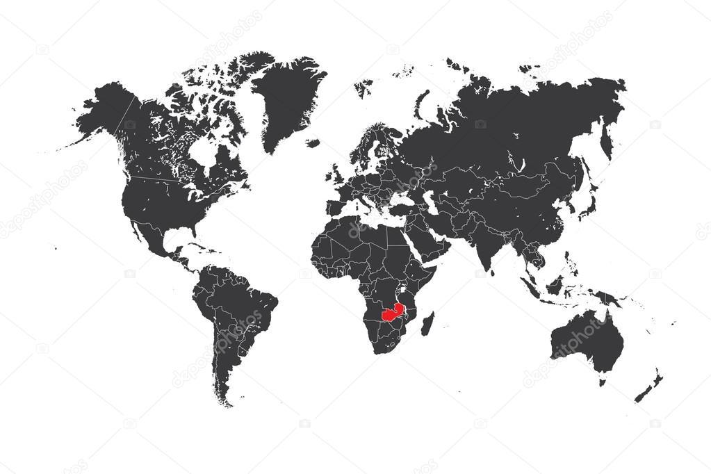 Mapa del mundo con un pas seleccionado de zambia foto de stock mapa del mundo con un pas seleccionado de zambia foto de stock gumiabroncs Gallery