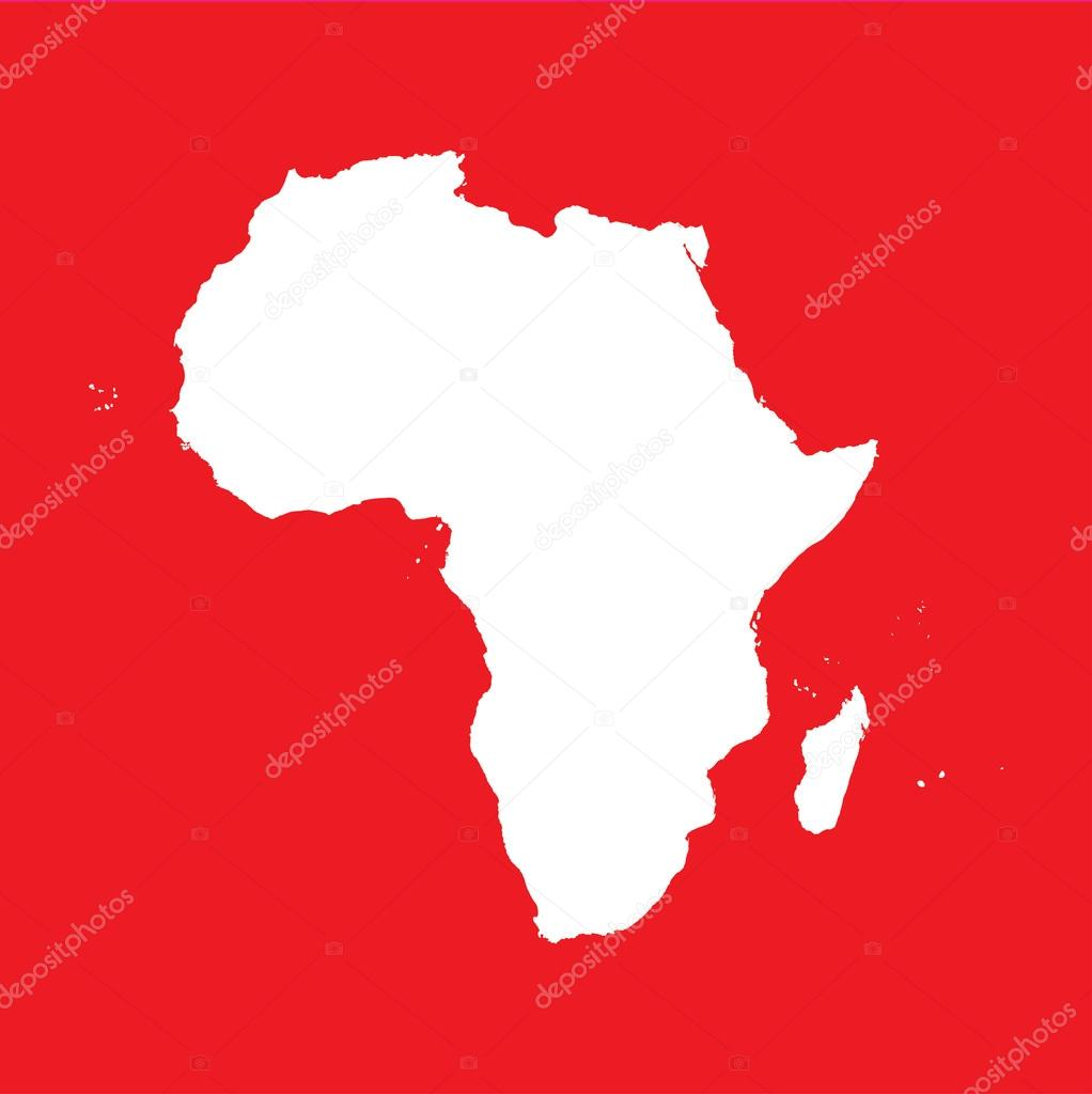 An Illustration Of The Outline Of The Continent Of Africa U2014 Photo By  PaulStringer