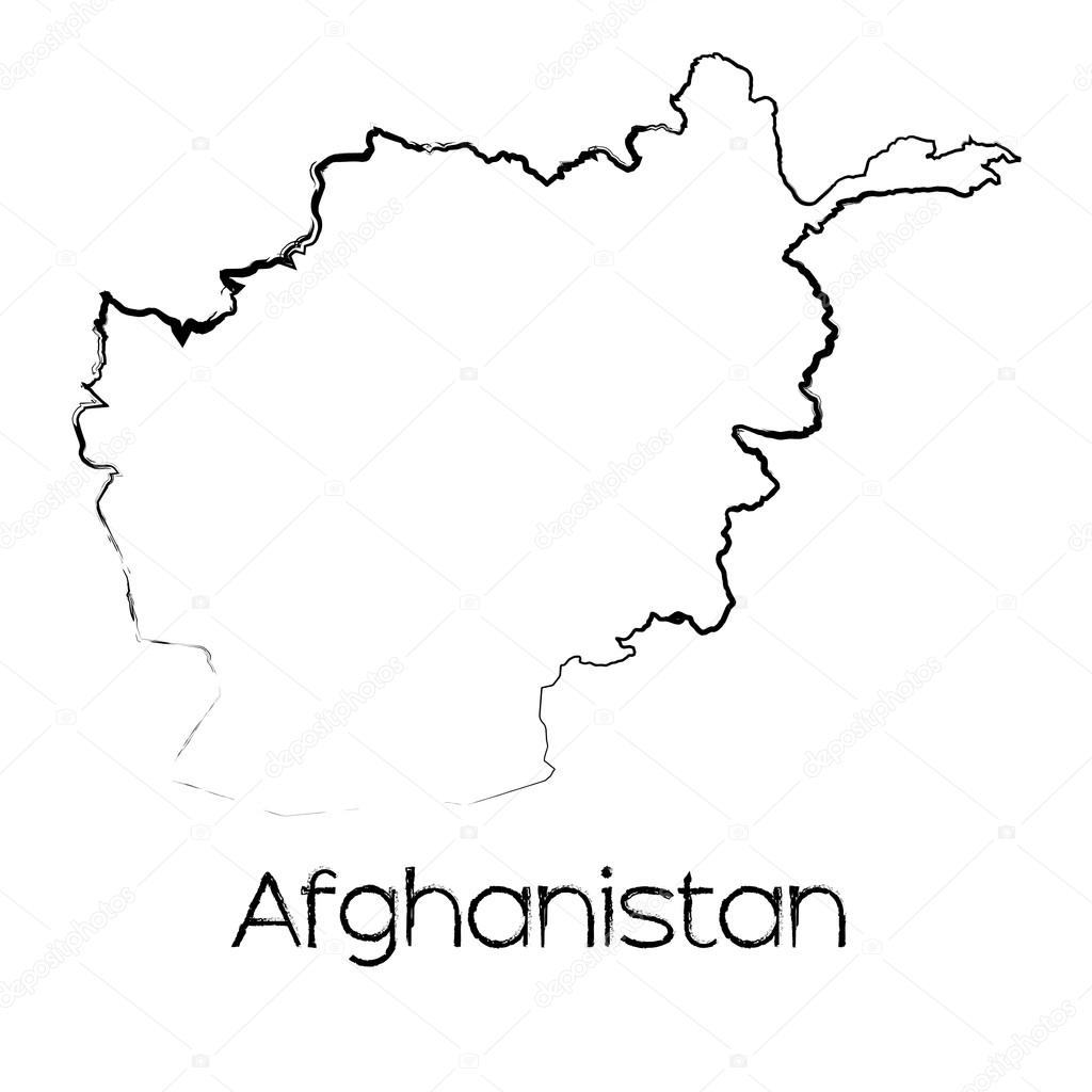 Scribbled Shape of the Country of Afghanistan — Stock Photo ... on drawing of nicaragua, drawing of guatemala, drawing of colombia, drawing of tradition, drawing of arms race, drawing of indonesia, drawing of liberia, drawing of somalia, drawing of grenada, drawing of western hemisphere, drawing of senegal, drawing of ecuador, drawing of bahamas, drawing of honduras, drawing of greenland, drawing of deccan plateau, drawing of bulgaria, drawing of marshall islands, drawing of martinique, drawing of belgium,