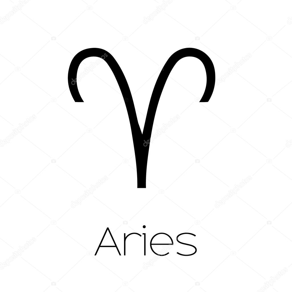 Illustrated zodiac symbol aries stock vector paulstringer illustrated zodiac symbol aries stock vector biocorpaavc