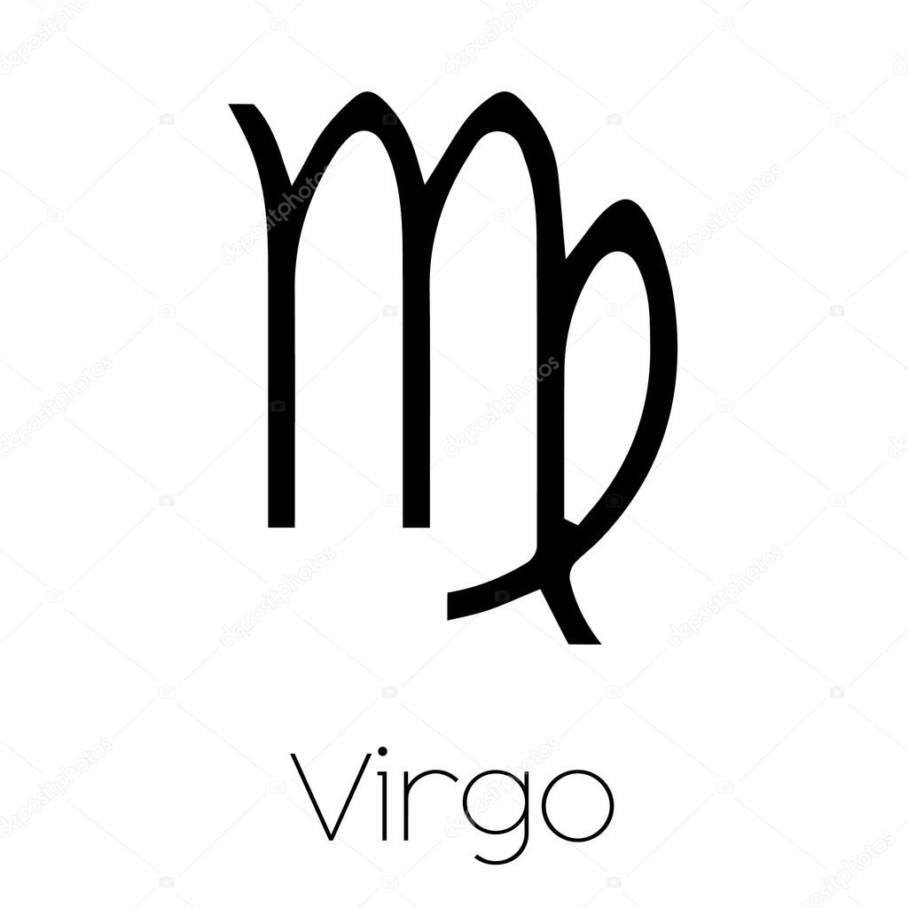Virgo Horoscope Tattoo Designs
