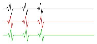 heart rhythm, ecg line vector symbol icon design. Beautiful illustration isolated on white background