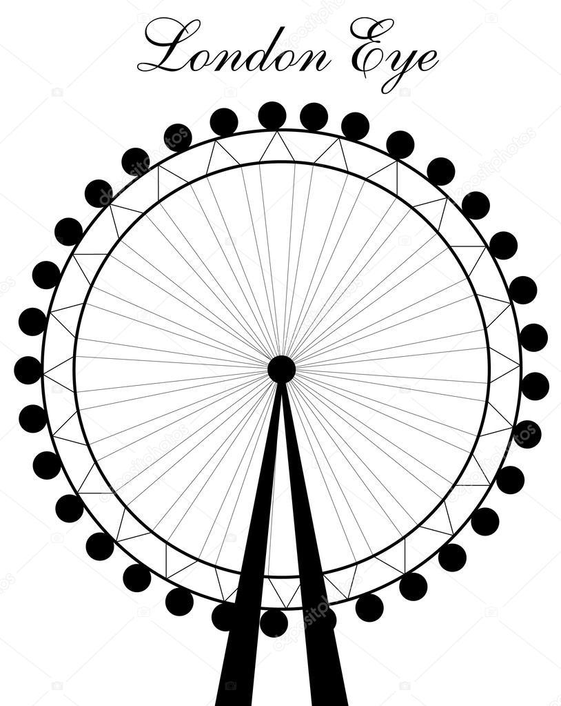 london eye silhouette stock vector  u00a9 newelle 55693167 ferris wheel clip art image ferris wheel clipart silhouette