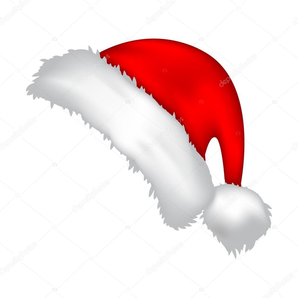 gorro de santa navidad sombrero icono s237mbolo dise241o
