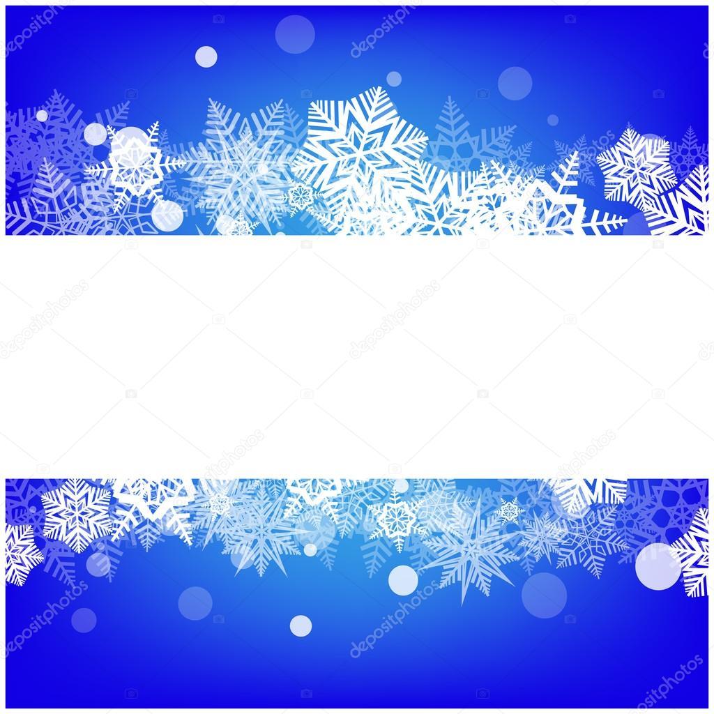 Weihnachten Vektor Schneeflocke Hintergrund für Karte. Schneedecke ...