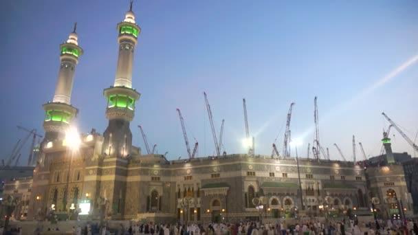 haram moschee in mekka, saudi arabien