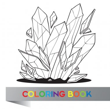 Coloring book - vector illustration