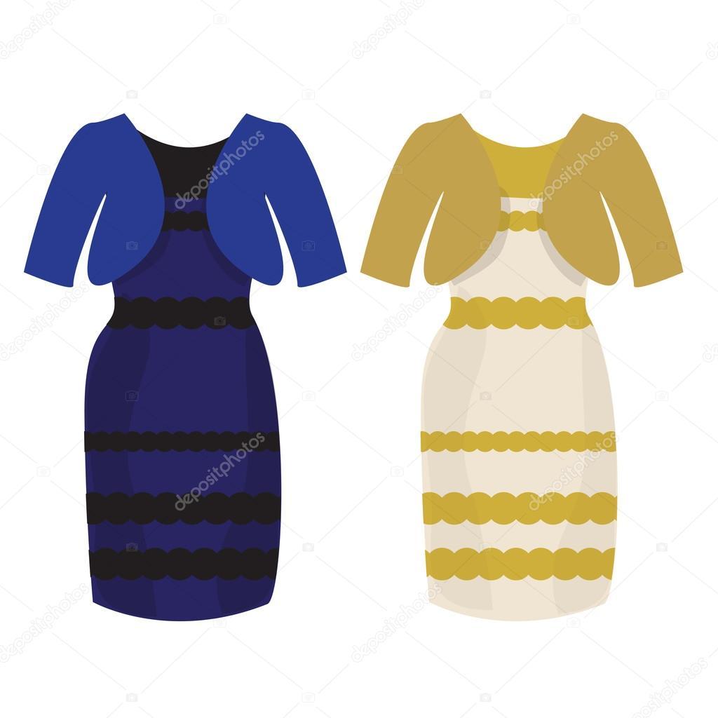 factory authentic aa165 30fce Puzzle che colore di abito bianco e oro o nero blu ...