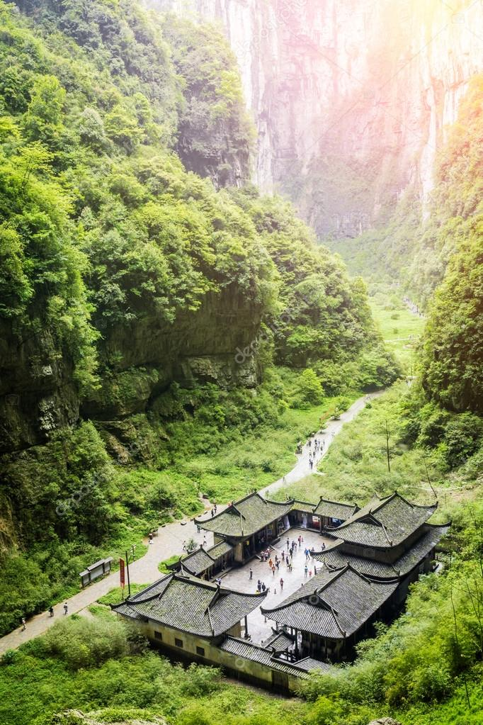 valley in china world heritage landscape
