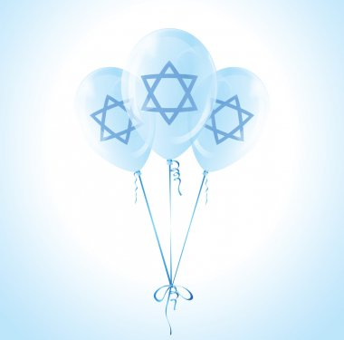 Balloons for the Israel Independence Day