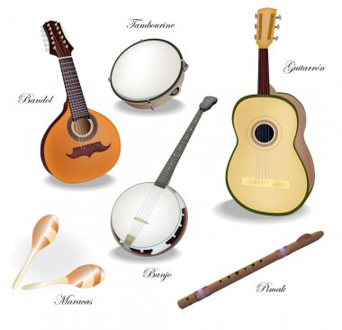 Mexican musical Instruments