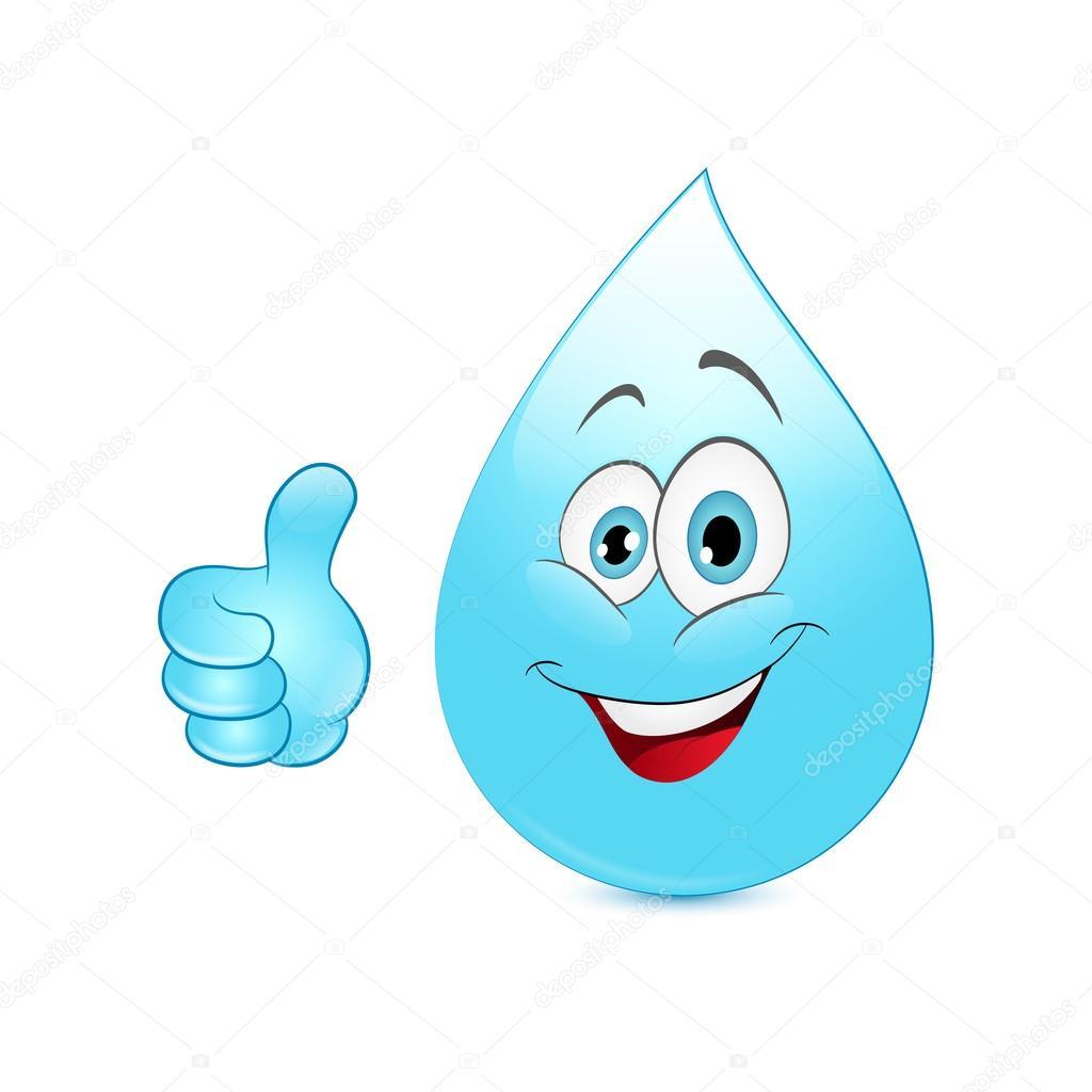 Dibujos animados de gota de agua archivo im genes for Fondos animados de agua