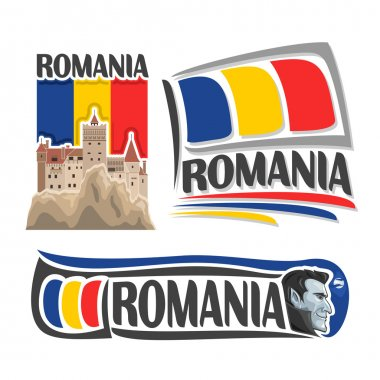Vector logo for Romania
