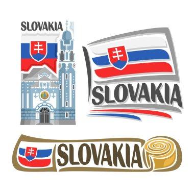 Vector logo Slovakia