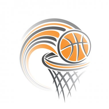 The image of a basketball ball