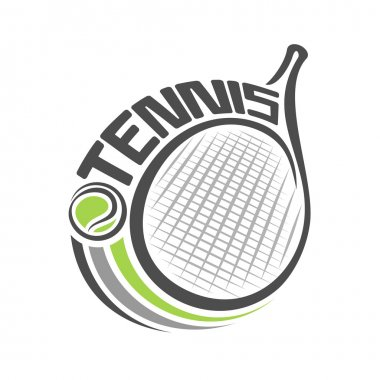 Abstract background on the tennis