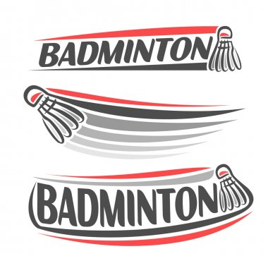 Images on the badminton theme